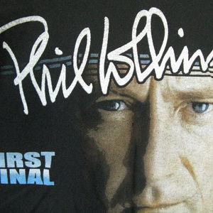 Phil Collins Farewell Tour Concert Tee Shirt